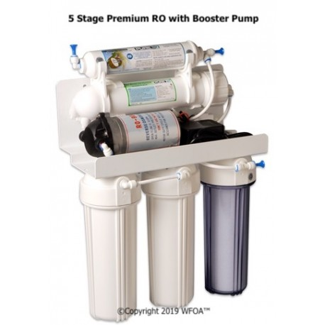 5 Stage Reverse Osmosis w/ Booster Pump