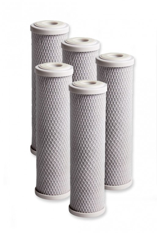 """10"""" Carbon Replacement Filters (5 Filters)"""