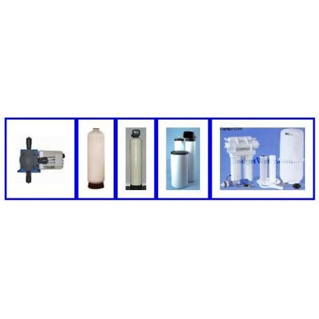 45K Twin Softener,Chem Feed, Ret. Tank,Carbon Tank, R.O.