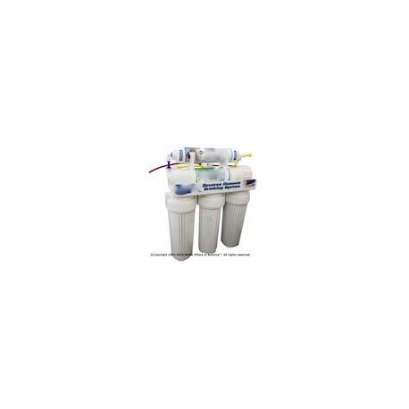 Five Stage 50 GPD w/ Nitrate Cartridge.